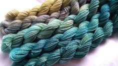 Set of 5 gradient skeins - hand-dyed merino fingering yarn. Perfect for a pretty knitted shawl, a cowl or a pair of socks or mitts. Also fine for weaving. Each skein is approximately 88 yards / 25g for a total of 440 yards / 125 g. 100% superwash fingering merino. Hand-dyed in small batches by Oceanwind Knits.  **note - these are sometimes dyed to order so please allow a little extra production/shipping time, thanks!**