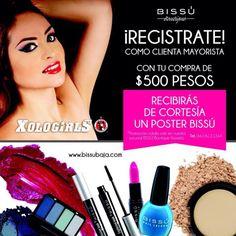 Quieres ser Distribuidor de Bissu Cosmeticos?? Promo coin valida en Bissu Boutique Rosarito 661 6121364