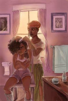 Black Women Art! — Agony by LaReineDesVagabonds