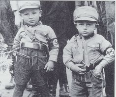 German boys in SA Uniforms (1943)