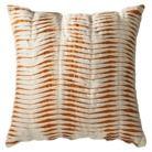 Room Essentials® Pleated Decorative Pillow - Orange