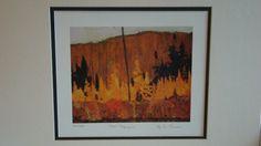 Tom Thomson--Autumn Algonquin LTD Art Print Group of Seven | eBay $34.99