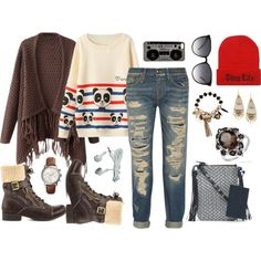 """Hipster - Tumblr inspired"" by gabriele-bernhard on Polyvore"