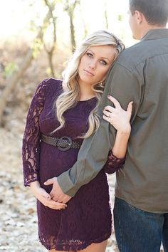 Could probably make this into an engagement photo instead (no maternity)...