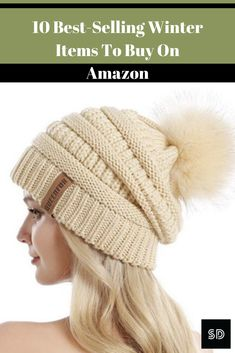 Knitted Hats, Crochet Hats, Winter Essentials, Winter Hats, Amazon, Knitting, Stuff To Buy, Shopping, Fashion