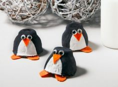 Penguin craft ideas for kids: preschoolers, kindergarten and toddlers. Penguin projects for adults.  Fun and easy craft activities using paper, clay, paper plate,  Holiday crafts, Christmas, winter,