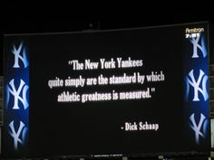 Yankee greatness...not lately, but..oksy..