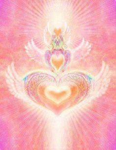 Messages from The Angels ~ Move Towards Those of Like Hearts Sensory Art, Aura Colors, Mandala, Spiritus, Visionary Art, Psychedelic Art, New Wall, Galaxy, Aesthetic Art