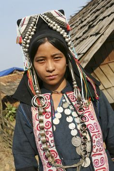 Laos, the Akha people   - Explore the World with Travel Nerd Nici, one Country at a Time. http://TravelNerdNici.com