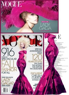 """Lady Gaga- Vogue The September Issue"" by kmp11 ❤ liked on Polyvore"