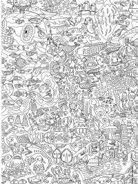 Eenhoorn Emoji Kleurplaat Under The Sea Free Printable Adult Coloring Pages Free