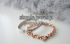 simple jewelry #justgirlythings
