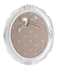 Look what I found on #zulily! Rosette & Heart Pinboard by Established 98 #zulilyfinds