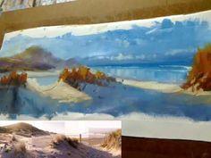 Painting Lesson - Ocean Beach Study