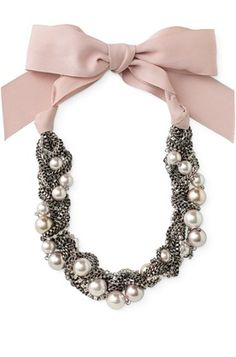 Love the color in this necklace.