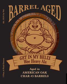 mybeerbuzz.com - Bringing Good Beers & Good People Together...: Left Coast Barrel Aged - Get In My Belly Wee Heavy...