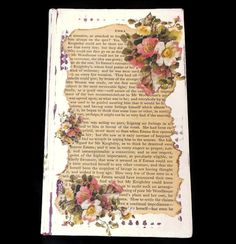 Altered Book Book Sculpture Book by SCWVintage on Etsy