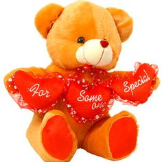I Love You Teddy Bear Rs 984/- http://www.tajonline.com/valentines-day-gifts/product/slw692/i-love-you-teddy-bear/?Aff=pint2015/