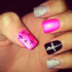 Cross nails