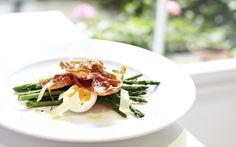 Movember recipes: asparagus, duck egg and Parma ham