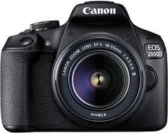 Buy Canon EOS DSLR Camera with DC Lens at Argos. Thousands of products for same day delivery or fast store collection. Canon Camera Reviews, Canon Dslr Camera, Dslr Cameras, Nikon D5600, Dslr Camera Images, Camera Tips, Camera Case, Film Camera, Canon Eos