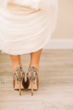 Badgley Mischka #shoes | Photography: Cmostr Photography - cmostr.com