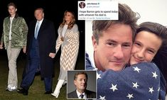 PIERS MORGAN: Melania Trump is right to protect her son Barron from vile Twitter trolls | Daily Mail Online John Henson, Interesting News Articles, Joe Scarborough, Piers Morgan, Trump Tweets, First Lady Melania, Cold Case, Mail Online, Daily Mail