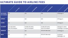 The Most Common Hidden Airline Fees, All In One List