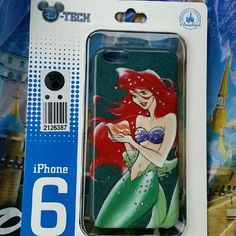 D-tech iPhone 6 hard case Ariel Little Mermaid D-tech iPhone 6 hard case Ariel Little Mermaid Disney Accessories Phone Cases