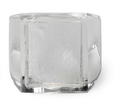 Lucite Clear Square Faced Ring - Maison Martin Margiela