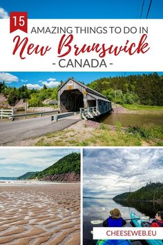 15 Top Things To Do in New Brunswick, Canada We share our top 15 things to do in New Brunswick (plus 6 more from our own Bucket List) to make the most of your travel to Canada's Maritime Provinces. East Coast Travel, East Coast Road Trip, Alberta Canada, Rodan And Fields, Quebec, Canada Winter, Canada Vancouver, Backpacking Canada, Viajes