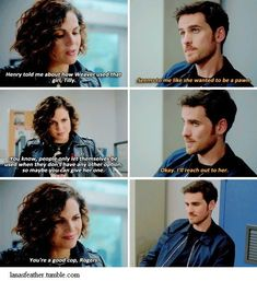 """""""You're a good cop, Rogers"""" I liked this moment.. And then she throws his cake in the trash  #OnceUponATime"""