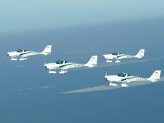 AQUILA A211 formation. Training aircraft.