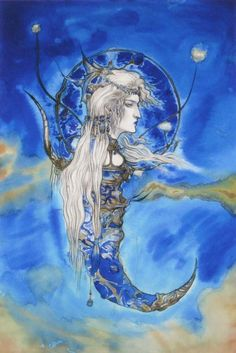 天野喜孝 Amano Yoshitaka Illustration Gallery