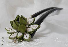 katumi made *つまみ細工の簪(かんざし)髪飾り、つまみ細工のshop*平簪