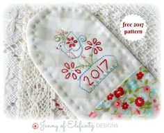 2017 stitchery Bookmark | Craftsy