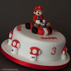Cool Birthday Cakes for Boys Cool Kids Birthday Cakes Totally Cool Birthday Cakes for Boys Homemade Birthday Cake Ideas for Mario Kart Cake, Mario Bros Cake, Mario Birthday Cake, First Birthday Cakes, Birthday Boys, Cupcakes, Cupcake Cakes, Mario Bros Kuchen, Bolo Super Mario