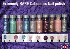Caboodles Nail Polishes