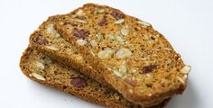 """""""Double-baked Crisps (Clone-of-Raincoast-Crisps) Using this recipe, you can make Rosemary Raisin Pecan Crisps, Cranberry Hazelnut Crisps, Fig Walnut Crisps or Date Almond Crisps, just by swapping out the fruit and nuts accordingly. Appetizer Recipes, Dessert Recipes, Desserts, Appetizers, Snacks Recipes, Healthy Snacks, Healthy Eating, Baking Recipes, Whole Food Recipes"""