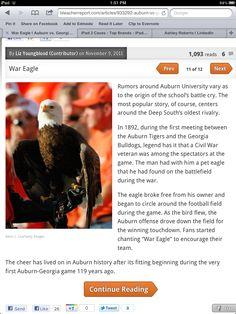 The Legend of War Eagle