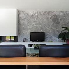 Por de kovel architecten moderno | homify Decoration, Flat Screen, Sweet Home, House Design, Living Room, Interior Design, Architecture, Inspiration, Modern Living