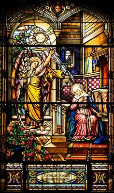 Stained Glass Window - Notre Dame Cathedral Basilica of Ottawa - Mo Tabesh. #StainedGlassChurch