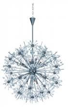 Maxim 39746BCPC - Eighteen Light Polished Chrome Beveled Crystal Glass Up Chandelier
