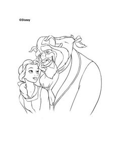 Disney's Beauty and the Beast Printables, Coloring Pages and Activities | SKGaleana