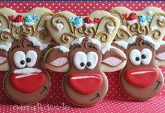 Reindeer cookies. Top that!