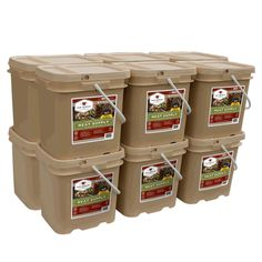 720 Serving Gourmet Freeze Dried Meat