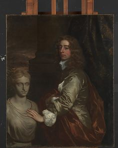 """""""Sir Henry Capel"""" by Sir Peter Lely (1659?) at the Metropolitan Museum of Art, New York - From the curators' comments: """"Capel served for more than twenty years as member of Parliament for Tewkesbury and in 1692 was created Baron Capel of Tewkesbury. He was briefly first lord of the admiralty, a lord of the treasury, and both a lord justice and the lord deputy of Ireland."""""""