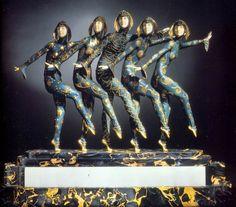 Art Nouveau, la belleza criselefantina