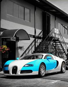 Bugatti- not a big fan of these colors but I want one of these cars so bad
