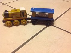 Thomas & Friends Tank Engine Wooden Railway Train Stepney & Jewel Cargo…